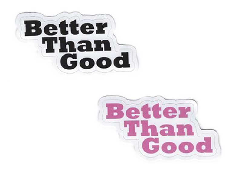 Keith Hawkins Sticker | Better Than Good